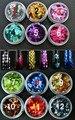 Tamaño: 2mm * 3mm Muy Popular en forma de DIAMANTE de color holográfico glitter lentejuelas para el arte del clavo
