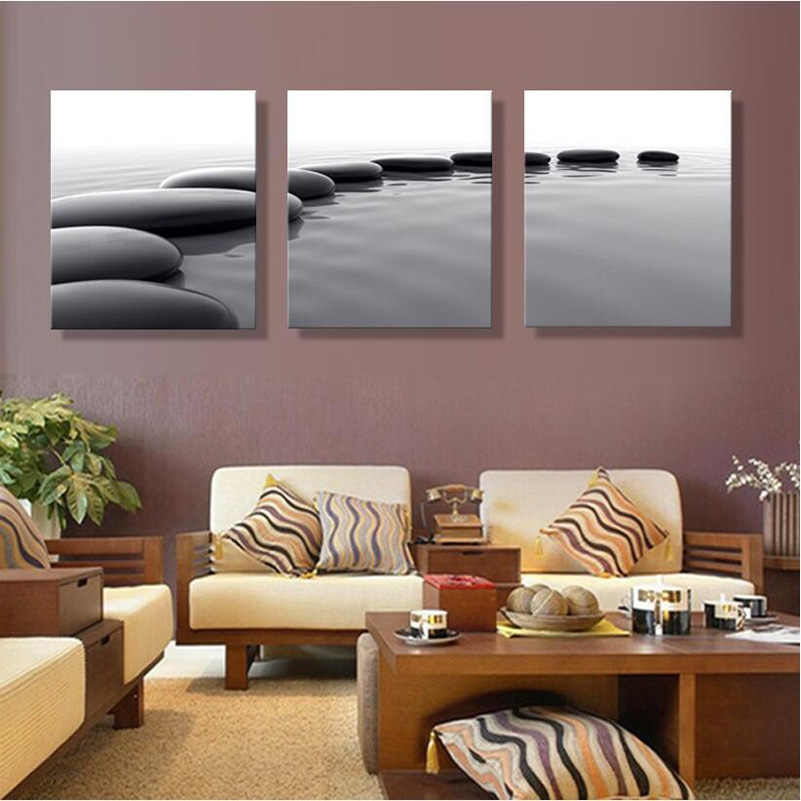 art pebbles definition pictures canvas prints Home Decoration living room Wall picture modular painting Print cuadros(no frame)