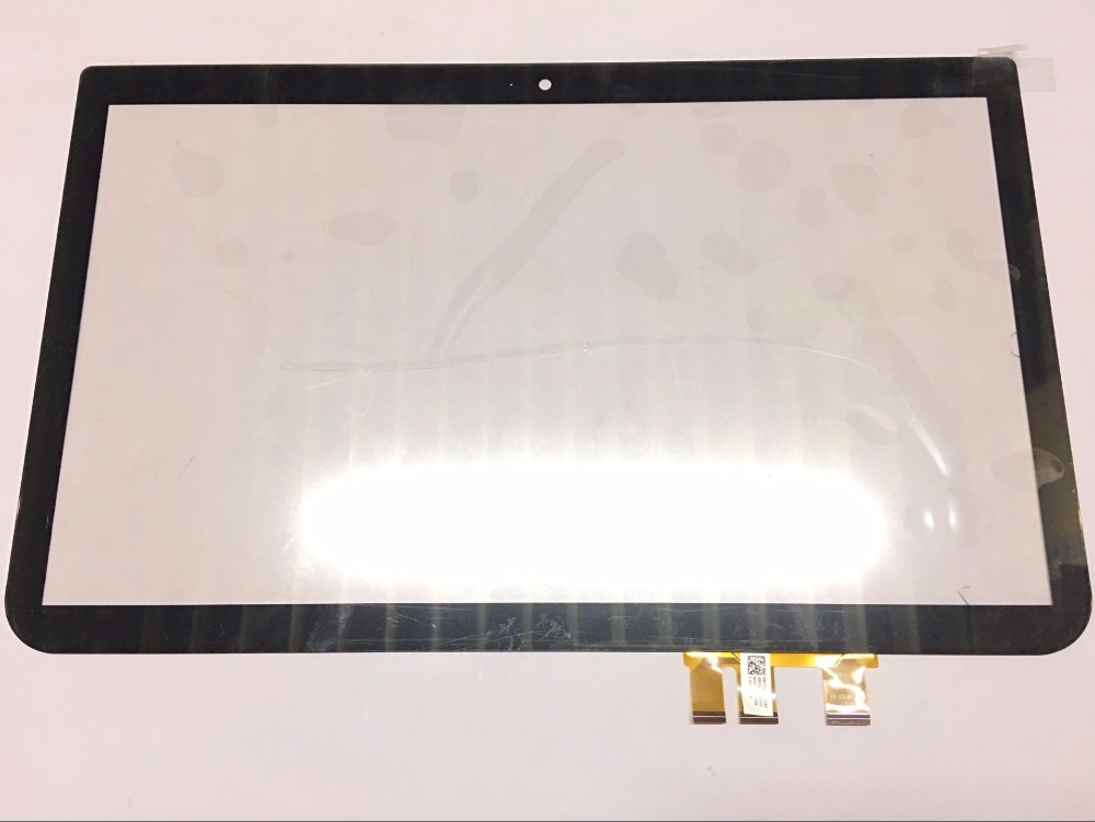 15.6 Inch Glass Touch Screen For Toshiba Satellite S55T S50T S55T-A5389 A5534 A5237 A5277 Laptop Touch Screen Glass+Digitizer new for toshiba s55t a5132 s55t a5277 s55t a5389 laptop lcd case top cover a shell lid fit touchscreen silver a shell