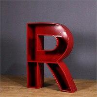 1 горячая Распродажа алфавитный новый металлический стеллаж для хранения напольная подставка книжный шкаф домашний Декор 3D Книжная полка д