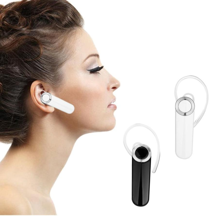 Universal Wireless Bluetooth Headset Handsfree Earphone with Mic For iPhone Samsung for Bluetooth smart phones tablets MP3 high quality 2016 universal wireless bluetooth headset handsfree earphone for iphone samsung jun22