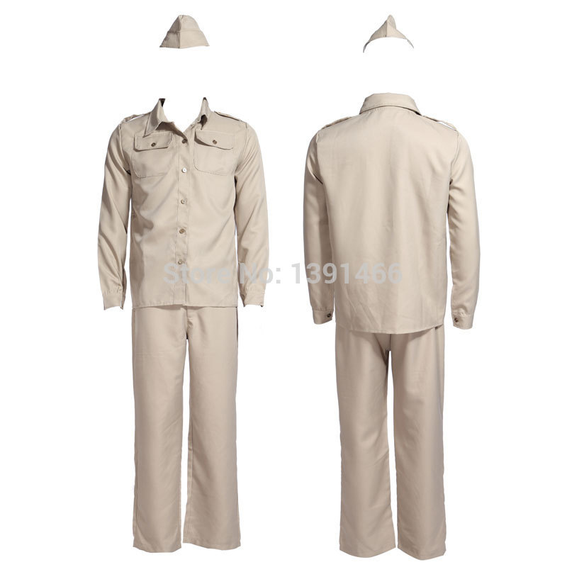 1940s WW2 Armed Forces American Gi U.S Soldier Uniform Fancy Dress Army Costume-in Sexy Costumes from Novelty u0026 Special Use on Aliexpress.com | Alibaba ...  sc 1 st  AliExpress.com & 1940s WW2 Armed Forces American Gi U.S Soldier Uniform Fancy Dress ...