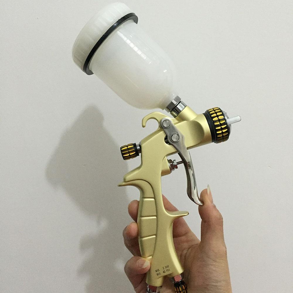 цена на SAT1216-A high pressure hvlp spray gun 0.8 base coating sprayer