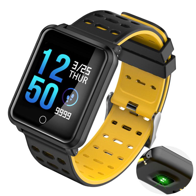 Heart Rate Monitor Smart Watch Fitness Pedometer Waterproof Bluetooth Touch Screen Blood Pressure Smart Sport Watch Men Women цены