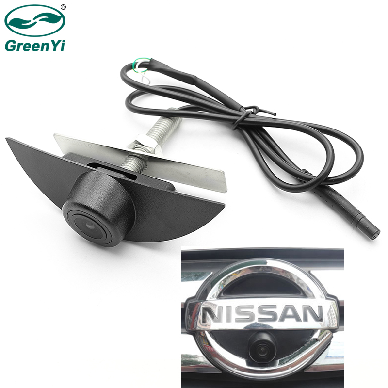 Greenyi Front-View-Camera Pathfinder Vehicle Sentra Sylphy Nissan Tiida Teana X-Trail title=