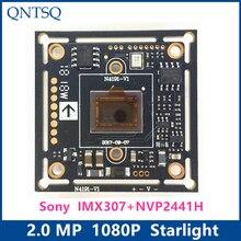 """1080P 2MP SONY 1/2.8 """"IMX307 + NVP2441H CMOS לוח, 4in1 אור כוכבים בהבחנה גבוהה, AHD,CVI,TVI, אנלוגי CCTV מצלמה מודול לוח"""