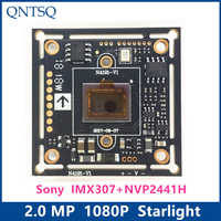 "1080P 2MP SONY 1/2. 8 ""IMX307 + NVP2441H CMOS BOARD, 4in1 Sternenlicht high-definition, AHD, CVI, TVI, analog CCTV Kamera Modul bord"