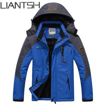 New Trekking Mountain Male Winter Warm Outdoor Jackets for Men,Camping Windbreaker Waterproof windproof Hiking Jackets for Women