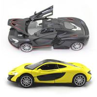 Car Models 1 32 McLaren P1 Alloy Diecast Car Model Toy Vehicles Electronic Car With Light