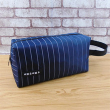 New Fashion Cosmetic Bag Wash Bags Large Capacity Organizer Bags Waterproof Tote Neutral Travel Makeup Bag недорого