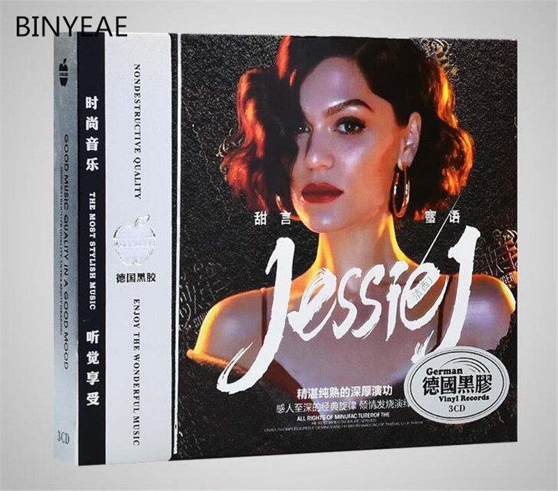Free Shipping: JessieJ Album Song 2018 Singer Music Collection Car 3CD Seal