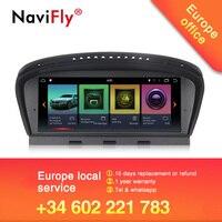 Новое прибытие! Navifly Android7.1 Автомобильная Мультимедийная система радио автомобиль BMW 5 серии E60 E61 E63 E64 E90 E91 E92 CCC CIC