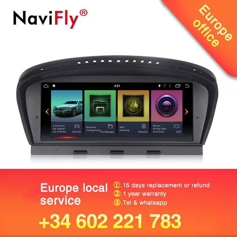 New arrival Navifly Android7 1 Car multimedia system car radio FOR BMW 5 Series E60 E61