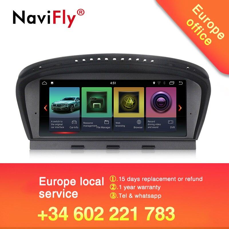 Nouveauté! Navifly Android7.1 autoradio système multimédia pour BMW série 5 E60 E61 E63 E64 E90 E91 E92 CCC CIC