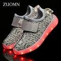 Meninas shoes rodinha crianças led light up shoes para crianças meninos zapatillas tênis brilhantes levou carga usb levou gh393