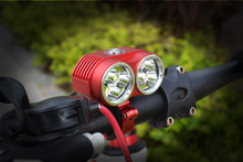2016 New Arrival Light LED Bike Front Bicycle lights Cycling 6* XM-L T6 10000lm lamps