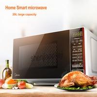 microwave oven Home use M1 L202B intelligent multi functional home use mini Falt Plate 220v 1pc