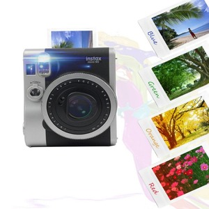 Image 3 - 4pcs/Set Gradient Color Fujifilm Instax Mini 90 Instant Camera Colorful Filters Magic Close Up Lens Camera