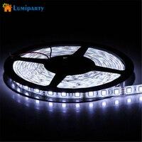 Lumiparty ledストリップdc12v 60 leds/m 5メートル柔軟なledライトrgb 5050 ledストリップ防水クリスマス照明屋外ロープ照