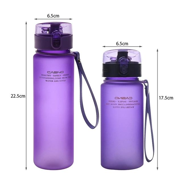 Sports Plastic Water Bottle