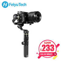 FeiyuTech G6 Plus 3 Axis Handheld Gimbal Stabilizer for Mirrorless Camera Pocket Camera GoPro Smartphone Payload 800g Feiyu G6P
