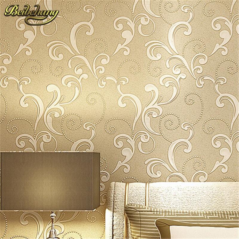 ⊹beibehang papel de parede. Modern Embossed 3d Wallpaper Textured ...