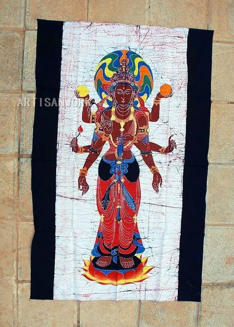 Batik Wax Printing Handicraft 3892 Free Shipping