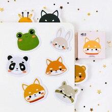 45 Pcs box Cute Small pets Mini Paper Sticker Decoration diy Diary Scrapbooking Label Sticker