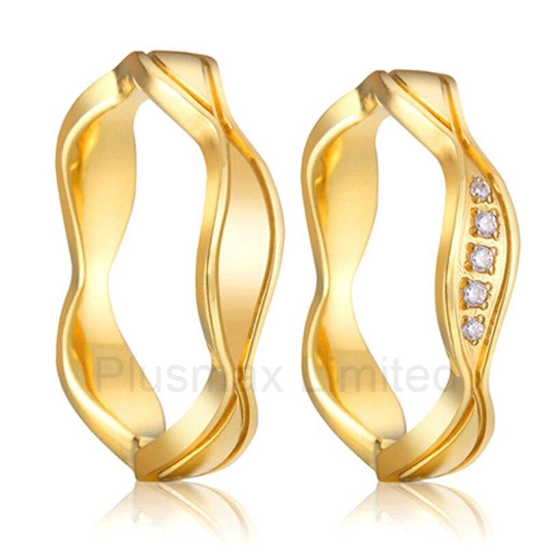Alliances titane acier bijoux boutique vintage fiançailles anneaux de mariage pour les femmes