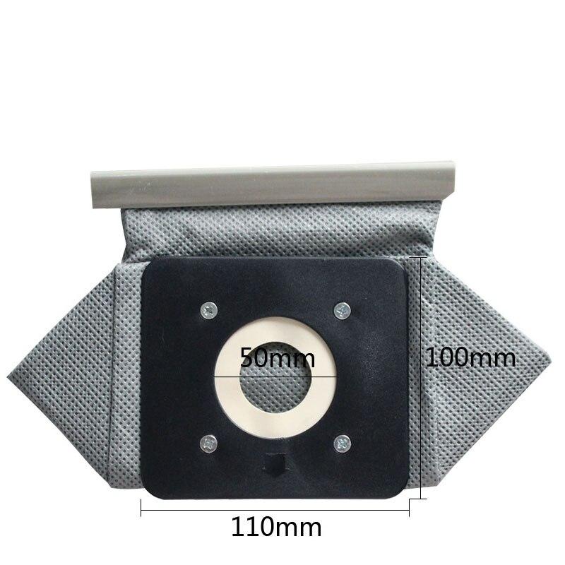 Универсальные мешки для пылесоса 11x10 см, для Philips, для LG, Haier, samsung, и т. д. пылесос, запчасти 10 мм * 11 см