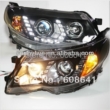 For Subaru Forester LED Head Lights 2008 -2013 year pw subaru samdar во владивостоке