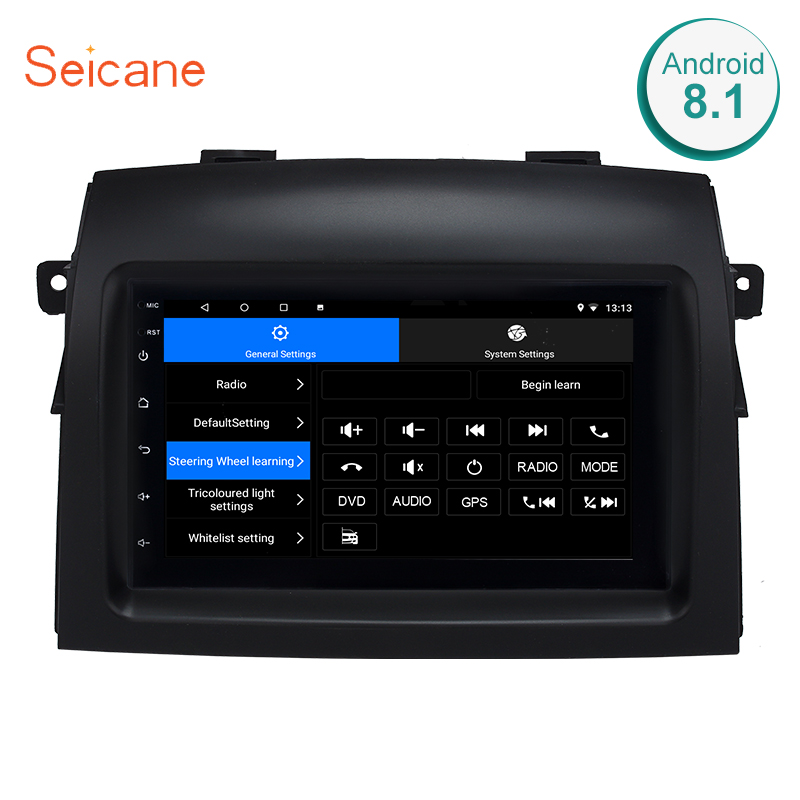 Seicane 2din Android 8.1 7 Car Radio Multimedia Player Wifi GPS Head Unit For 2004 2005 2006 2007 2008 2009 2010 Toyota Sienna