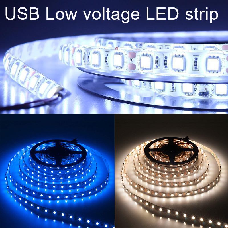 Bathroom Light Strip LED Strip LED String Flexible LED Super Bright Durable Kitchen Home Lighting USB