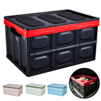 Multi function Big Capacity Car Trunk Organizer Folding Storage Box/Bag Collapsible Rear Auto Outdoor Camping Fishing Supplies