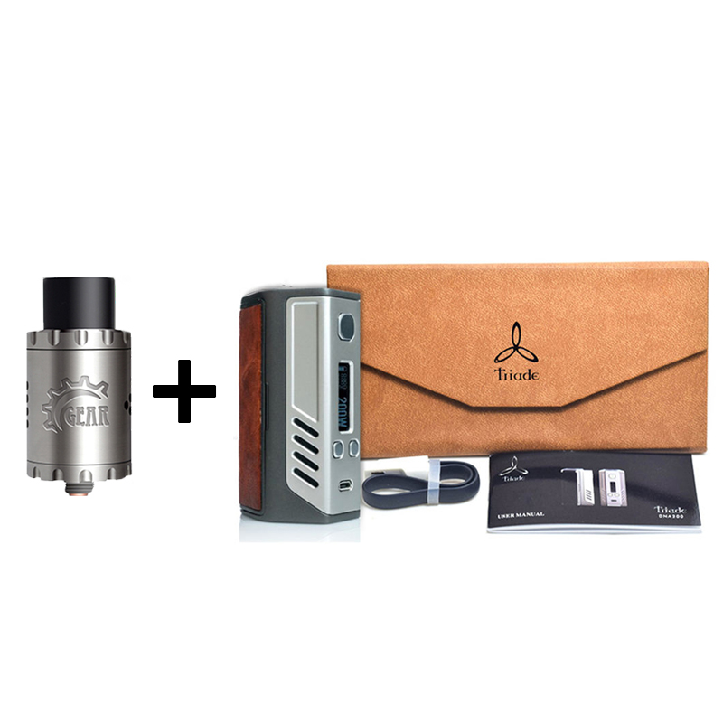 100 original Lost font b Vape b font Triade Triple 18650 DNA200 DNA 200 200W TC
