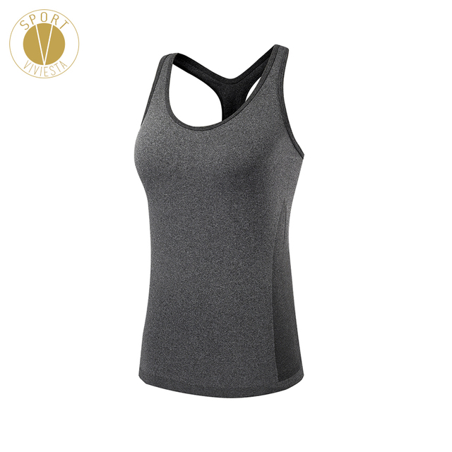 3654824385308 Compression Racerback Sports Tank Top - Women Good Quality Slim Skinny Fit  Yoga Running Training Gym Vest Shirt Sleeveless Top. 1 order
