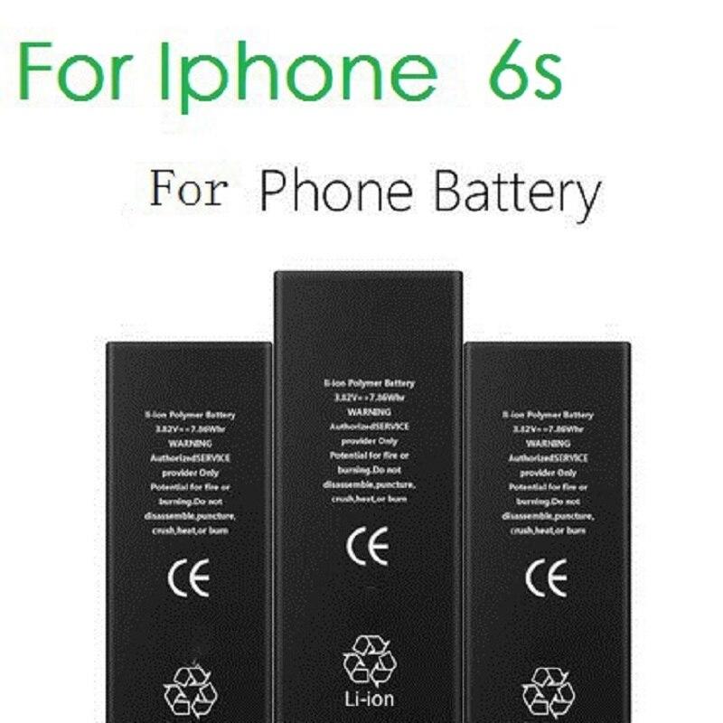 100% asli merek baterai ponsel untuk iphone 6s antirr nyata kapasitas 1810 baterai  mAh dengan 12ab0a8358