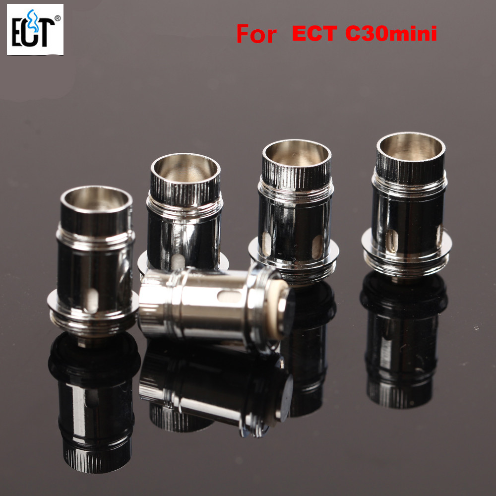 1pcs Original E-Cigarettes Replaceable Coil Head For ECT C30 Mini Atomizer Clearomizer Vaporizer Core1pcs Original E-Cigarettes Replaceable Coil Head For ECT C30 Mini Atomizer Clearomizer Vaporizer Core