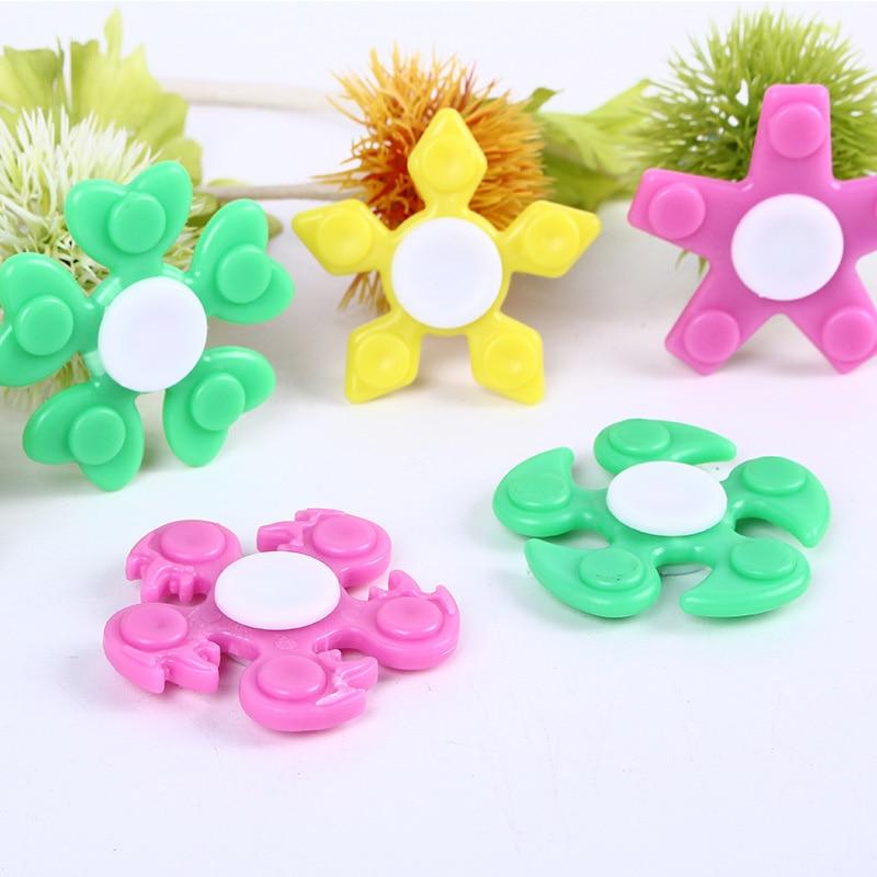 Fidget Spinner Hand Spinner Vinger Spinner Metalen Matte Black EDC Vinger-spinner Handspinner Figet Spiner speelgoed A227