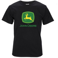 2017 New Fashion John Beer Tractor Deere 3D Printed Men S 100 Cotton T Shirts High