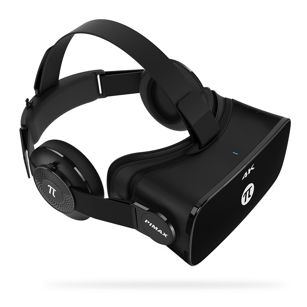 VR Virtual Reality Glasses 3D Headset for PC 110 Degree FOV 8.29MP IPD Adjustment Dual Gyroscope Anti Blue Laser