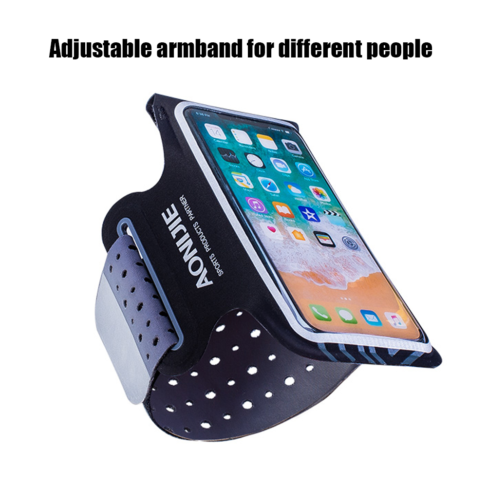 Sports Running Armband Case Sport Waist Pocket Mobile Phone Bags Camping Belt Fitness Pouch 6.5 Inch Double Warehouse Bag Without Return Cellphones & Telecommunications