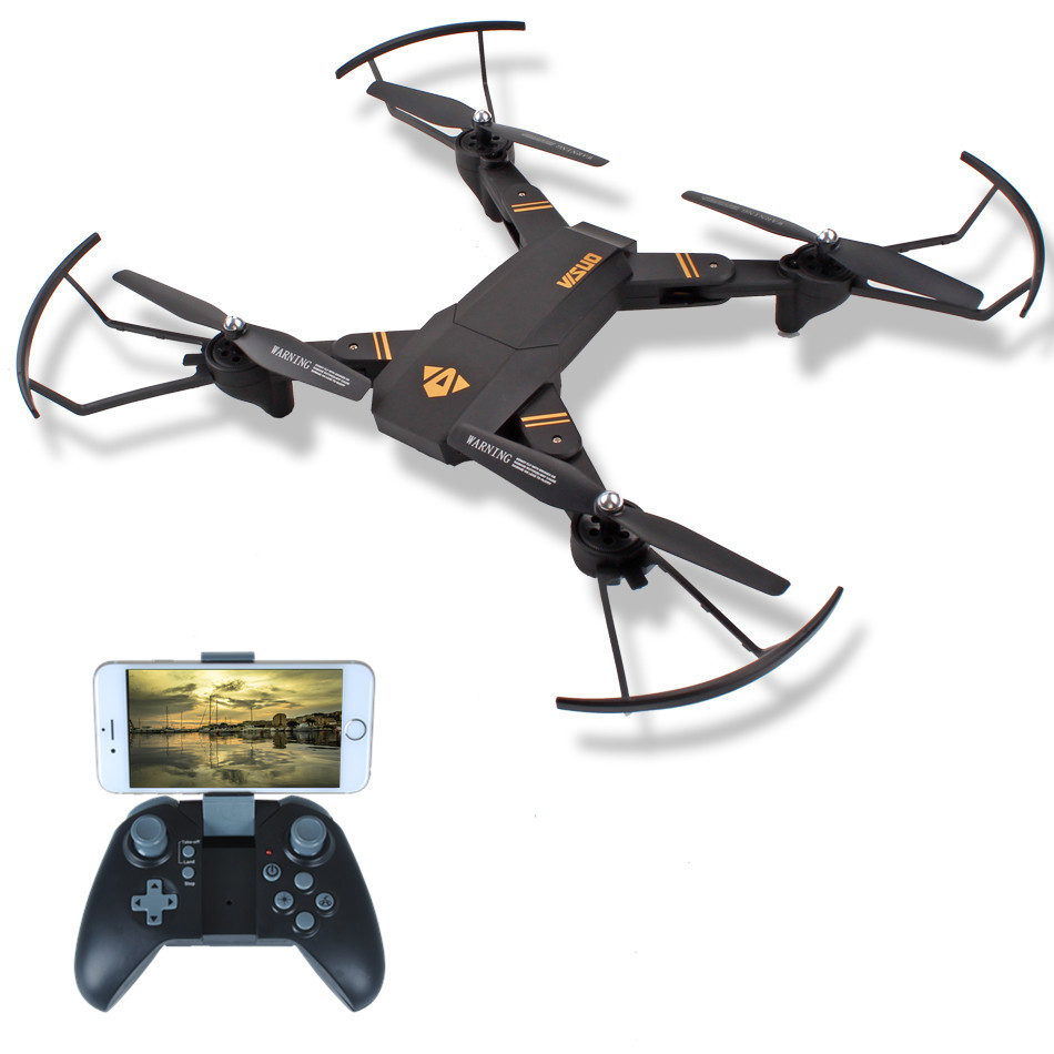 VISUO XS809HW Mini RC Drone Quadrocopter Foldable Selfie Drone with Camera Wifi FPV 0.3MP or 2MP Camera Altitude Hold Quadcopter