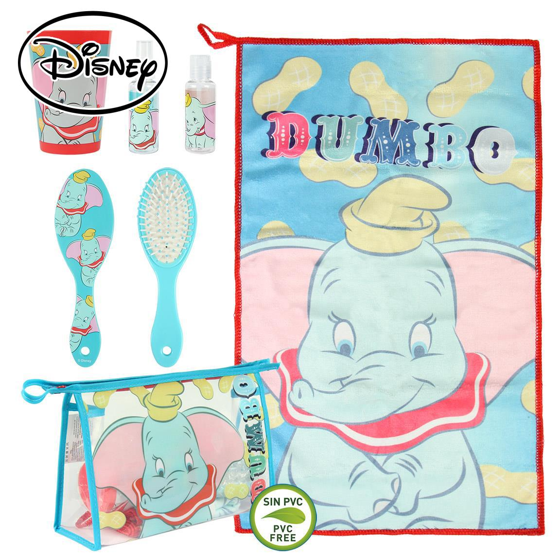 Cosmetic Bag Set Toilet/travel Disney Dumbo
