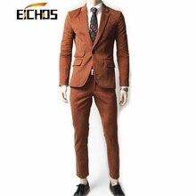 Sets/jacken + Anzughose 2015 Modische Männer Anzug Jacke Koreanischen Männlichen Qualität Terno Slim Fit Masculino Marke Mode kleid Anzüge