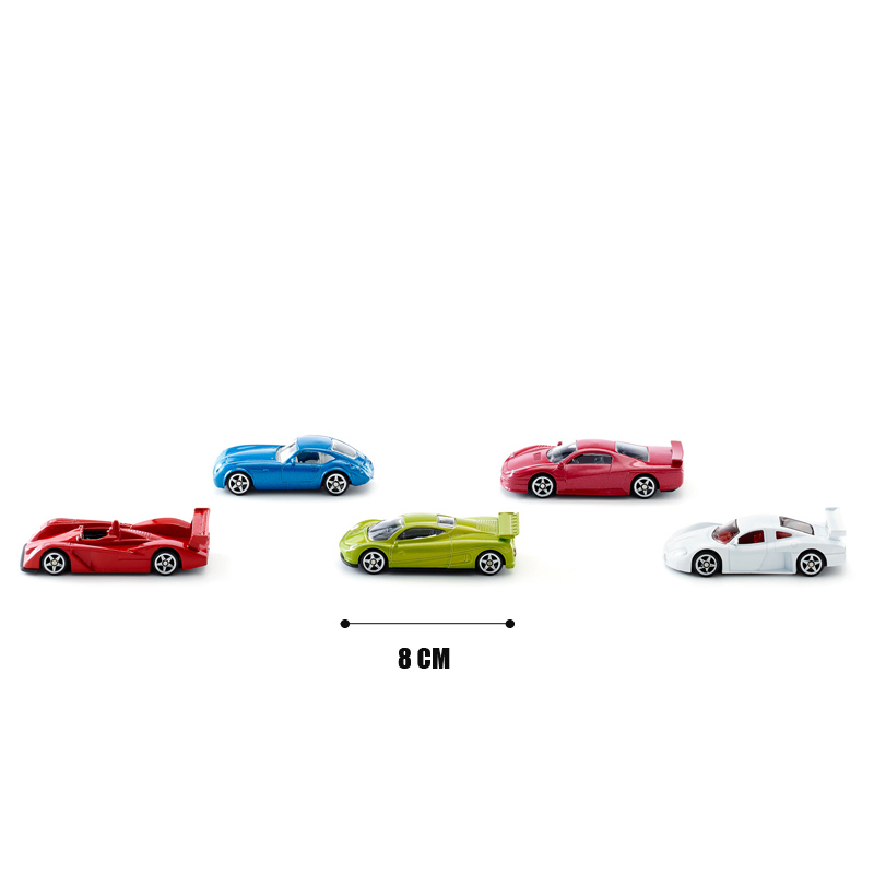 SIKU 5pcs Metal Car Toy Simulation Alloy Racing Car Model Diecast Sports Car Toy Vehicles Kids Toys Brinquedos Birthday Gift