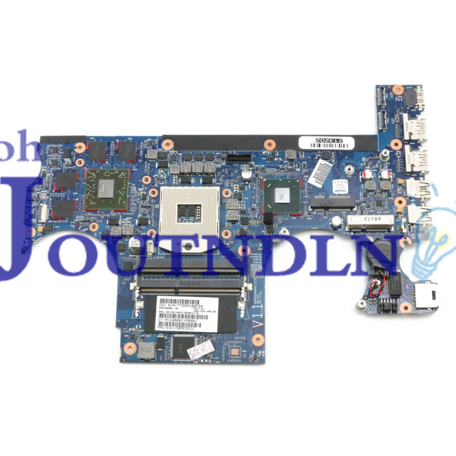 JOUTNDLN FOR Hp ENVY 17 17 3200 Laptop motherboard 689998 001 HM76 DDR3 W/ HD7850M 1GB GPU-in Laptop Motherboard from Computer & Office    1