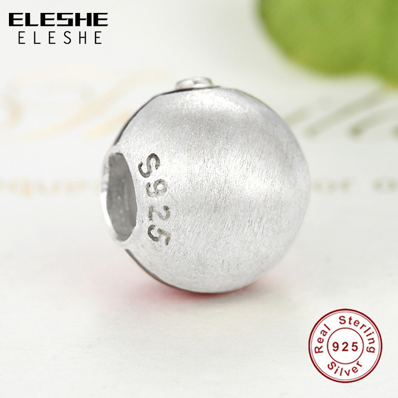 ELESHE Real 925 Pikachu Elf Bead Pokemon Ash Ball Charm Fit Pandora - Bisutería - foto 4