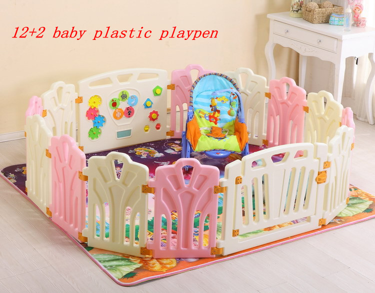 142 baby plastic playpenbaby game fence safety fence for kids