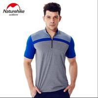 Naturehike Quick Drying Breathable Sunscreen PerspirSummer Men S Short Sleeved T Shirt Men S T Shirt